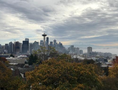 Regnerisches Seattle