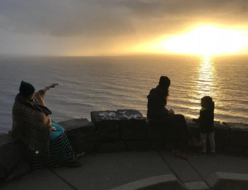 Über Portland zu Freunden an die Küste